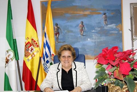 Antonia Grao Alcaldesa Saluda Navidad
